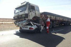 تصادف تریلی در منطقه دوآب سوادکوه با ۱۴ مصدوم + تصاویر
