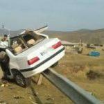 مرگ تلخ دو کودک در تصادف زنجان + عکس