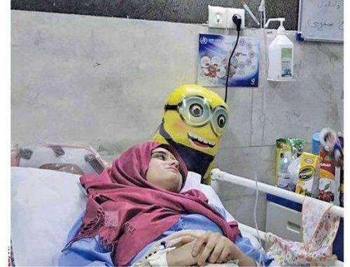 دختر 14 ساله قهرمان زلزله