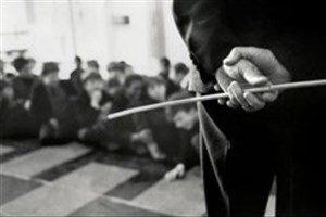 دانش آموز جیرفتی را مدیرش طوری کتک زد که لبش پاره شد +عکس
