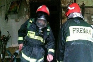 پدرکشی فجیع با تبر در بهشهر و پسر خانه را آتش زد تا رد قتل پدر پاک شود
