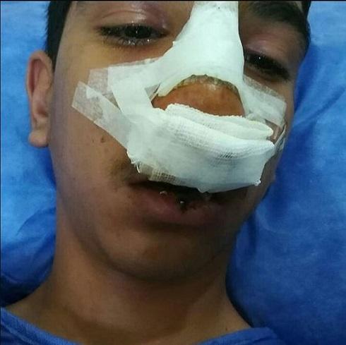 کتک خوردن دانش آموز جیرفتی