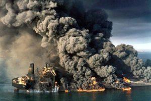 نفتکش سانچی غرق شد و امید خانواده ها را با خود زیر آب برد! +تصاویر