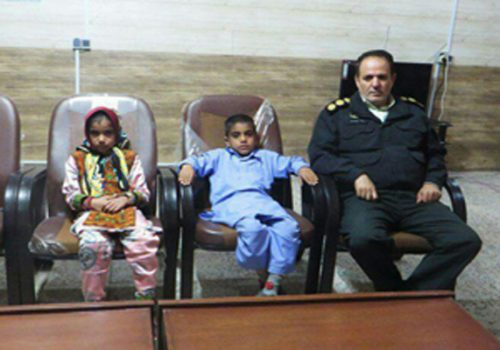 آزادی دو کودک ربوده شده