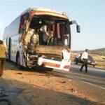 جزئیات واژگونی مرگبار اتوبوس در خراسان جنوبی با ۹کشته و ۳۶مجروح +عکس