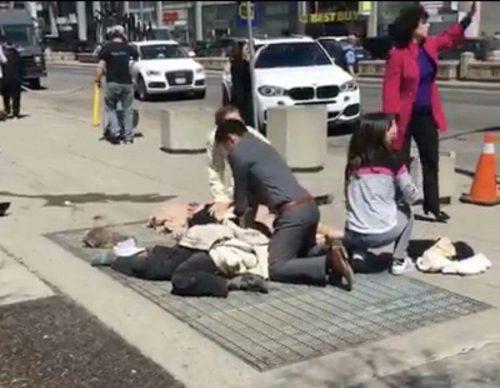 حمله جنون آمیز جوان ایرانی