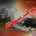 سرقت مسلحانه سارق خشن با تهدید و حبس دختر ۶ ساله +تصاویر