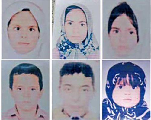 مفقود شدن کودکان افغان