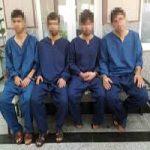 این چهار زورگیر خشن نوجوان از شیاطین جنوب شهر تهران هستند!+عکس