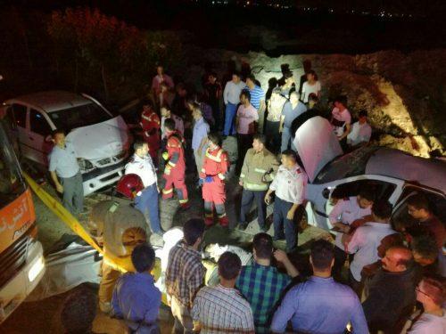 تصادف مرگبار در جاده خاوران
