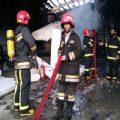 سقوط دلخراش آتشنشان مشهدی داخل دیگ آب جوش یک کارخانه +عکس