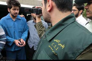 حضور قاتل بی رحم دانش آموز مشهدی در بازسازی صحنه جنایت +تصاویر