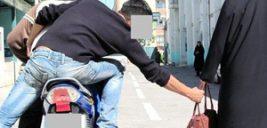 گفتگو با کیف قاپ سابقه دار به خاطر سرقت از گردشگران در خیابان ویلای تهران +عکس