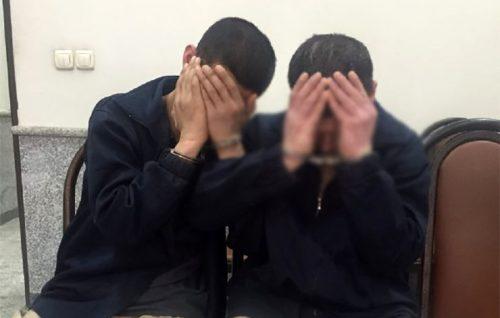 تجاوز دو مرد آزارگر