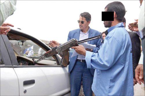 تیراندازی میدان تلویزیون مشهد