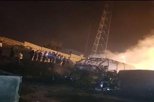 اسامی جانباختگان حادثه دلخراش تانکر نفتکش و اتوبوس در سنندج +تصاویر