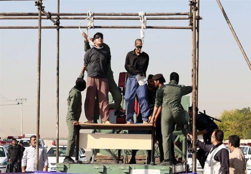 قاتلان ندا و محمد حسین