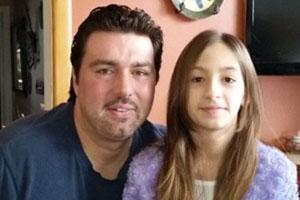 دوختن لب و چشمان دختر ۱۲ ساله به دلیل آرایش کردن توسط پدر سنگدل +عکس