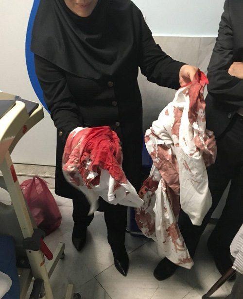 حمله خونین به پزشک سرشناس