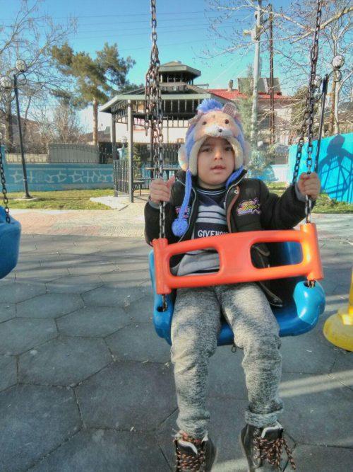 کودک 5 ساله بوکانی