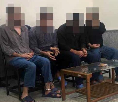 گروگانگیری مردان مسلح
