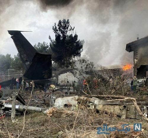 جزئیات تلخ سقوط هواپیمای بوئینگ ۷۰۷ در فردیس کرج +تصاویر