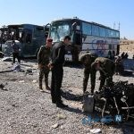 حمله تروریستی داعش به اتوبوس زائران ایرانی در شهر بلد عراق +تصاویر