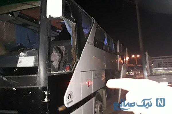 اتوبوس زائران ایرانی