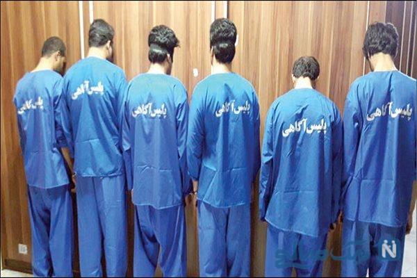 ماجرای دستگیری سارقان مسلح در راهزنی ۲۰۰ هزار یورویی از اتباع خارجی +تصاویر