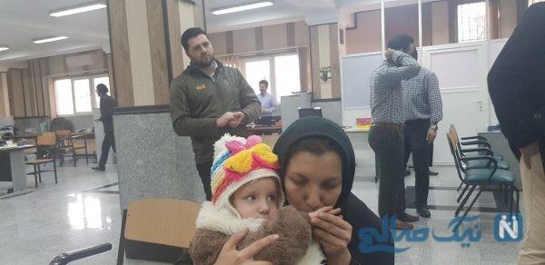 جزئیات نجات باران کوچولو دختر ربوده شده از چنگال زن آدم ربا +تصاویر