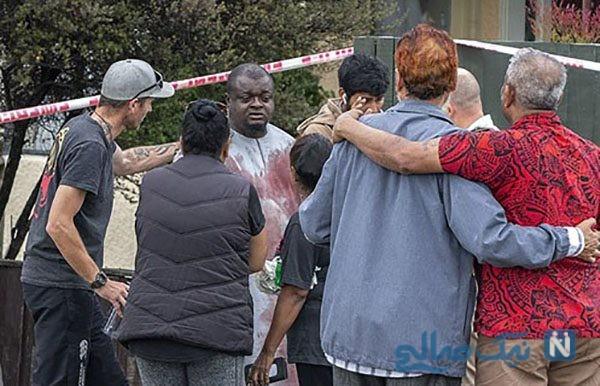 واکنش عجیب تروریست پلید مسجد نیوزلند در دادگاه +عکس