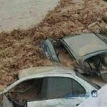نجات معجزهآسای یک خانواده گرفتارشده در سیلاب شیراز توسط یگان ویژه +تصاویر