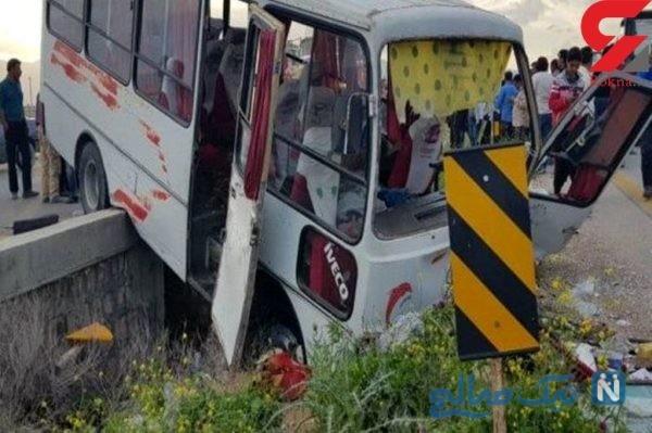 تصادف سرویس دانش آموزان