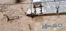 انفجار وحشتناک شاه لوله گاز در خرم آباد و اعلام جانباختگان سیل در لرستان +تصاویر