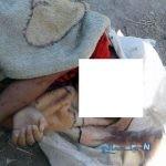 کشف دردناک دختربچه ۵ ساله ای بدون لباس از آپارتمانی پر از زباله +عکس