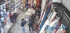 پلیس در تعقیب مرد خطرناک تهرانی بعد از سلاخی وحشیانه جوانی در یک فروشگاه +تصاویر