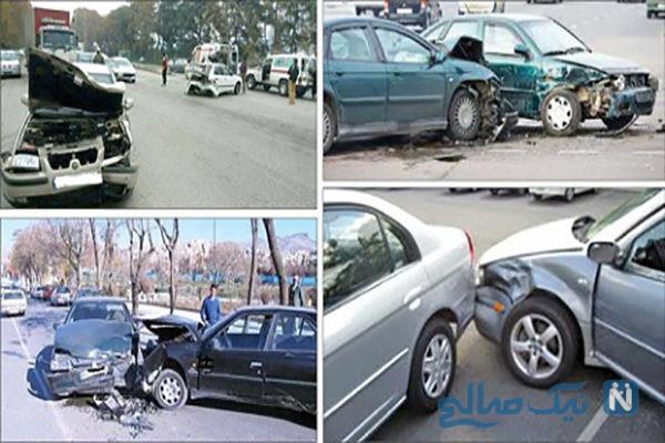 ماجرای تصادفات ساختگی دو جوان مشهدی که با پول مرگشان پولدار شدند +عکس
