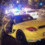 ماجرای کورس مرگبار دختر و پسر لاکچری با پورشه در اصفهان +تصاویر