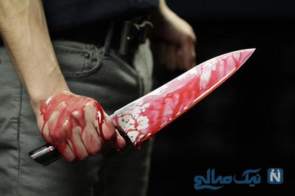 کشتن شدن پسر جوان مشهدی در وسط خیابان توسط مردان پلید و بی رحم +عکس