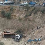 جزئیات دلخراش تصادف جاده خوانسار و کشته شدن ۱۳ تن در سقوط مرگبار مینی بوس +تصاویر