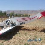 جزئیات حادثه دلخراش سقوط هواپیمای آموزشی در گرمسار +عکس
