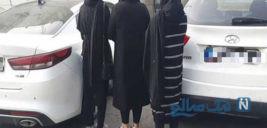 مردهای پولدار تهران قربانی اخاذی شوم مامان اعظم و فرزندانش +عکس