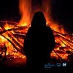 مرد مهاجر به نام حاج مسعود همسرش را مقابل چشم مردم به آتش کشید! +عکس