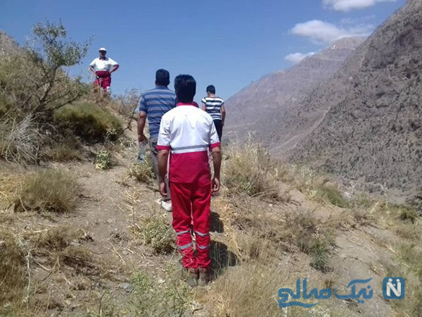 مرگ فجیع مرد طبسی و ردپای خونین ۳ گرگ در محل کشف جسد وی +عکس