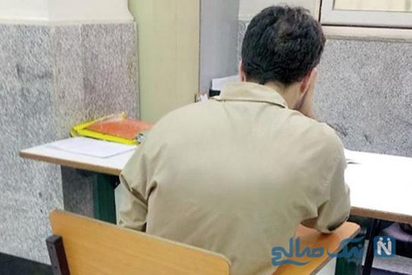 اعترافات هولناک مرد شیطانی در بازسازی صحنه قتل میدان تلویزیون مشهد
