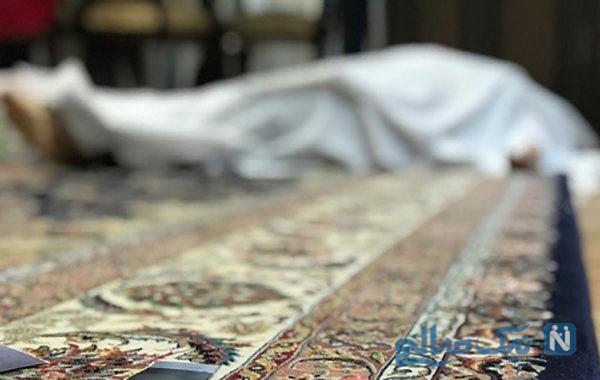 همسرکشی فجیع مرد کریستالی در مشهد و انتقال قاتل با تابوت +عکس