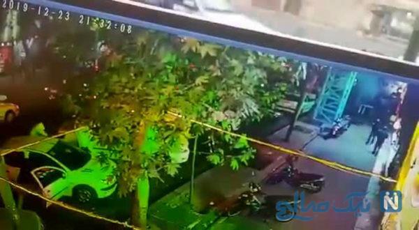 جزئیات درگیری خونین اراذل و اوباش و حمله به هانی کرده در خیابان شاپور