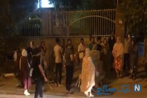 حمله مردم عصبانی و آتش زدن یک درمانگاه در بندرعباس به خاطر کرونا