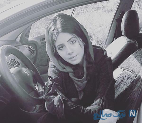 ابتلای سحر تبر در زندان به کرونا و بستری شدن در بیمارستان سینا