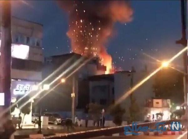 آتش سوزی کلینیک سینا و روایت امدادگران از شب تلخ تهران